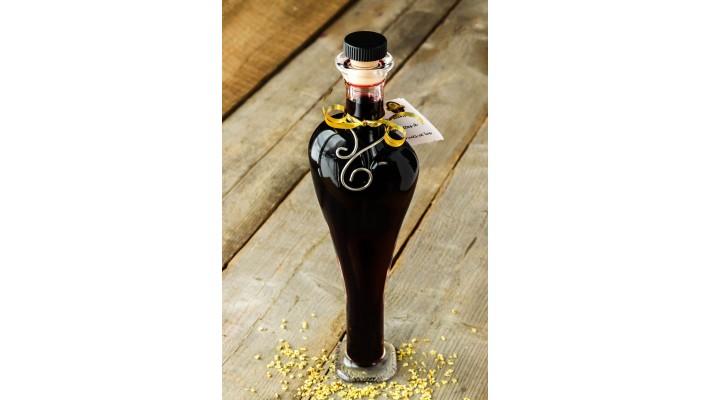 Sirop de fruits de sureau (bouteille coeur)